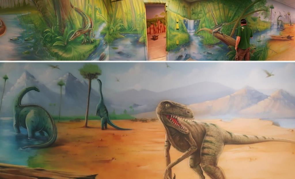 dinozaury roślino i mięsożerne