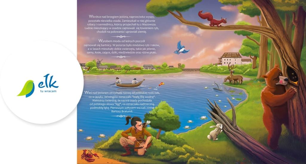 książeczka dla dzieci, Jaćwingowie