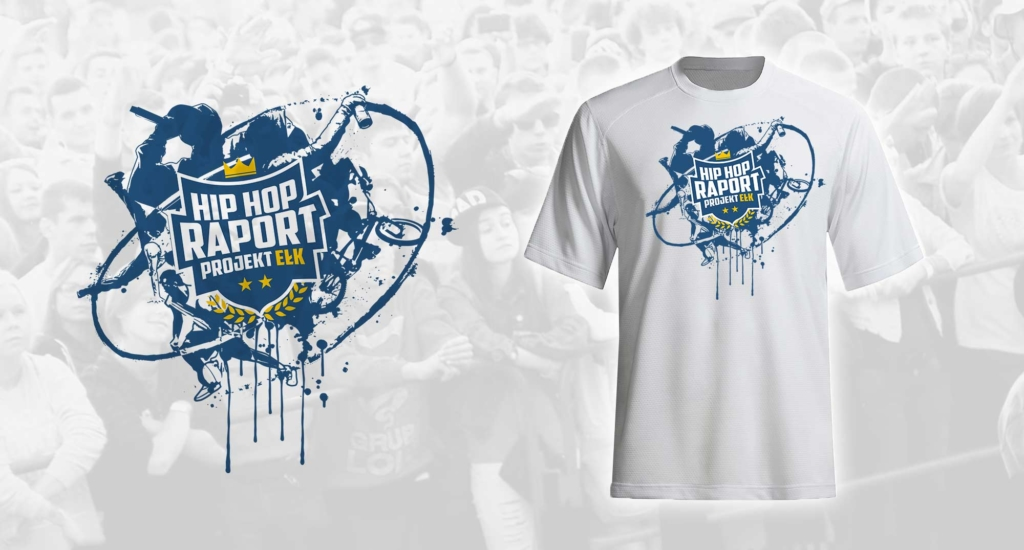 projekt koszulki festiwalowej