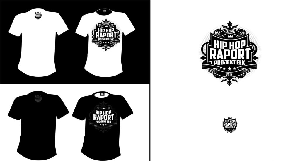 koszulka hip hop raport Ełk druga edycja