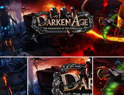 Ilustracje do gry Darken Age
