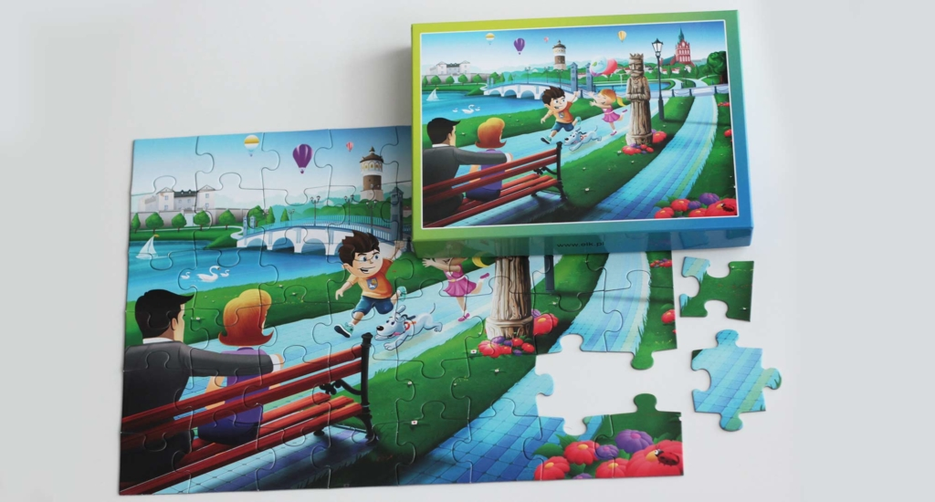 puzzle Promenada Ełku