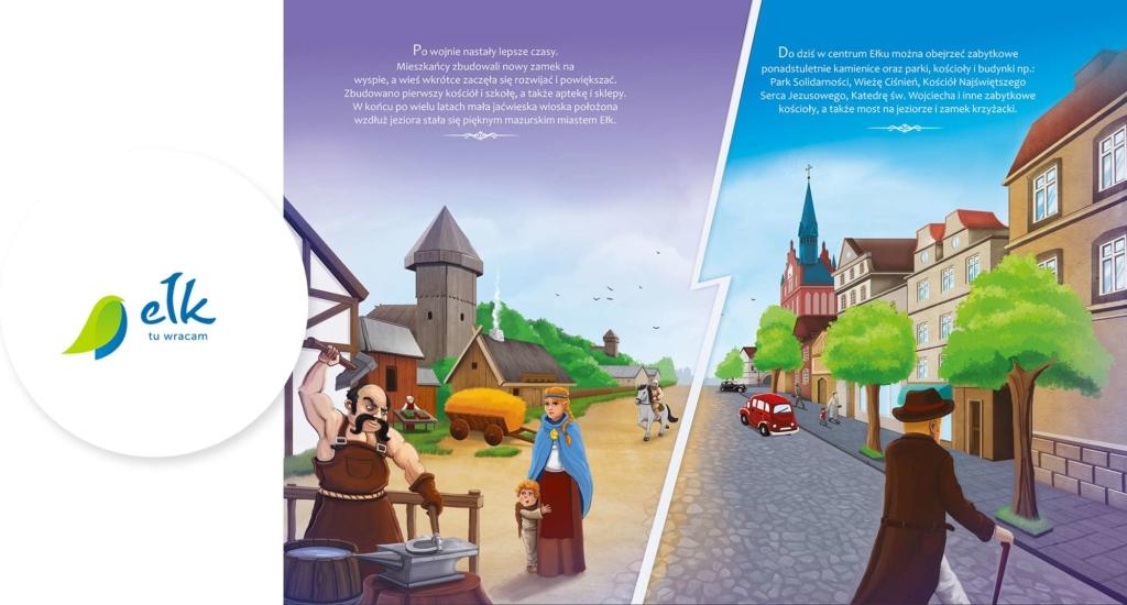 O tym jak wieś Łek stała się miastem Ełk
