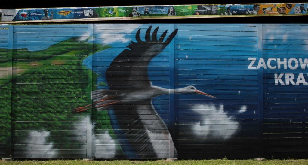 mural dla Przedsiębiorstwa Eko-Mazury