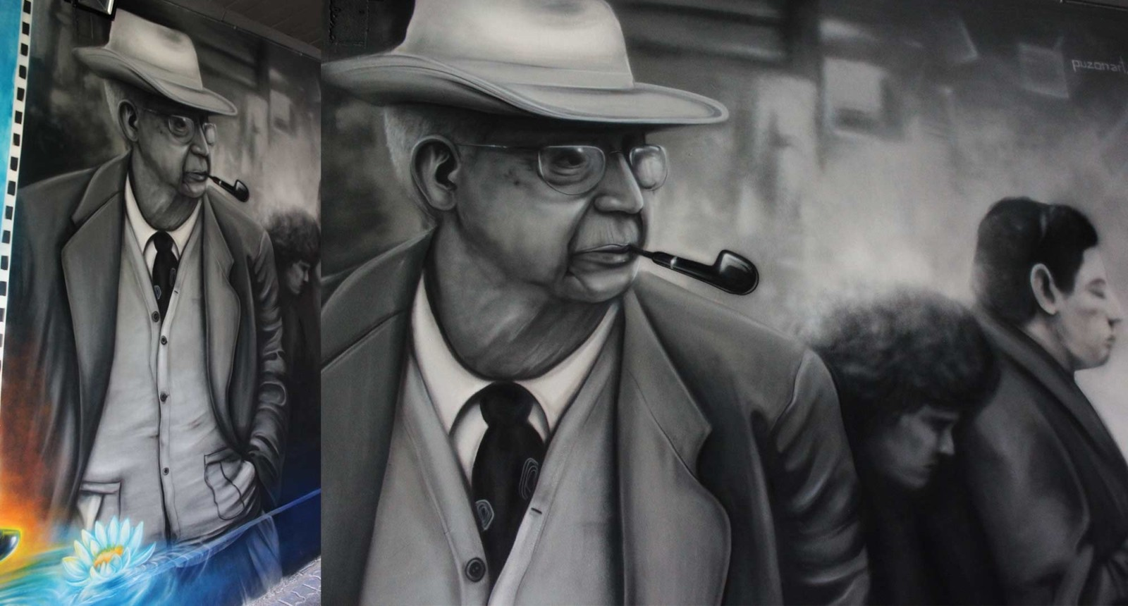 portret, fotografia, malowidło na podstawie zdjęcia
