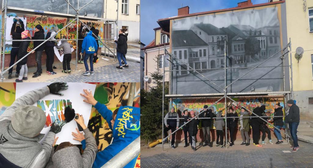 Mural społeczny pod okiem stowarzyszenia