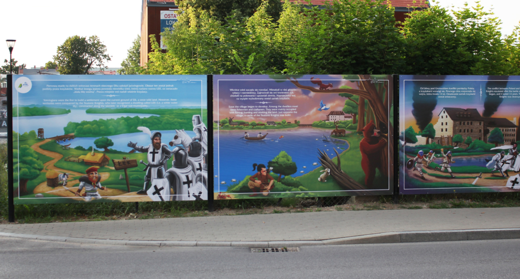 ilustrowana historia Ełku