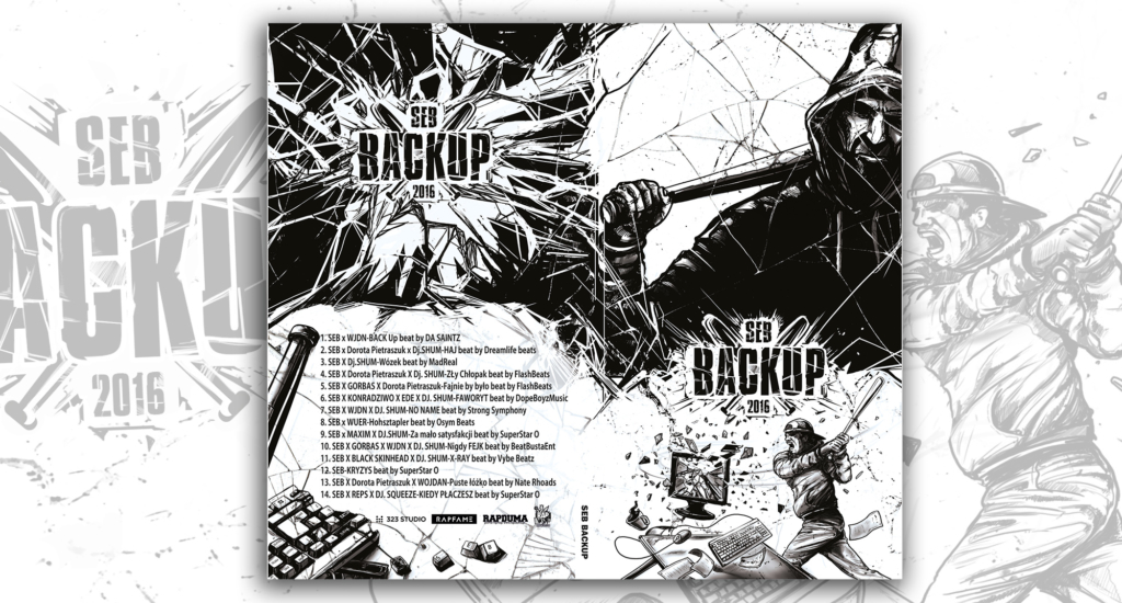 seb, backup, okładka digipak