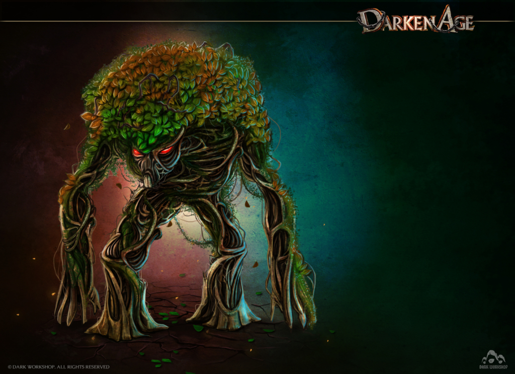 concept drzewa, ilustracja