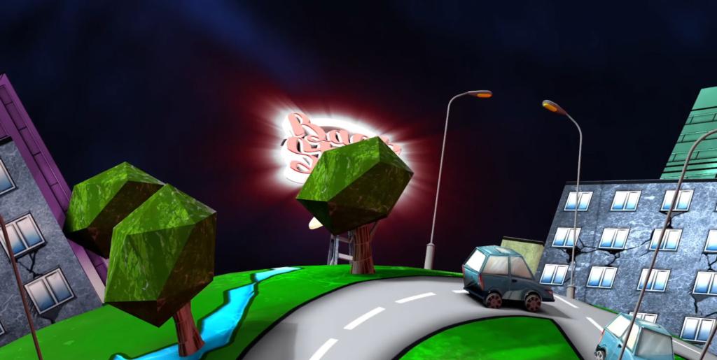 animacja 3d, czołówka telewizyjna, back stage