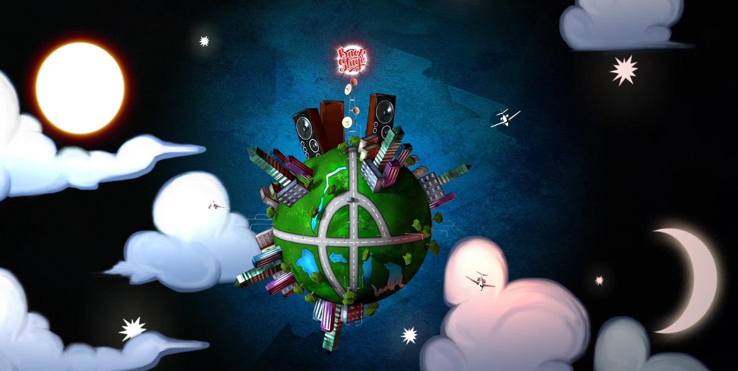 animacja 3d, ziemia 3d, czołówka animacja