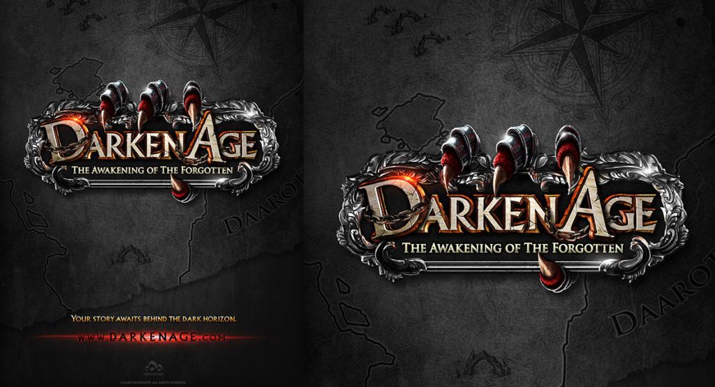 plakat, dark fantasy, do gier