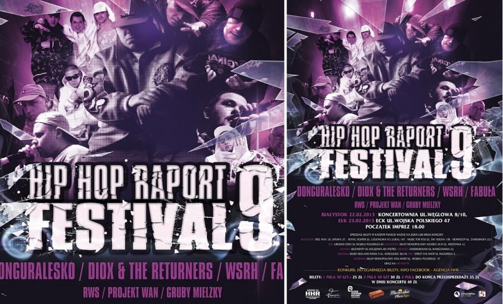 Białystok i Hip Hop Raport festwial