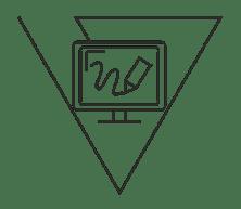 ikona ilustracje, grafika, Vinci