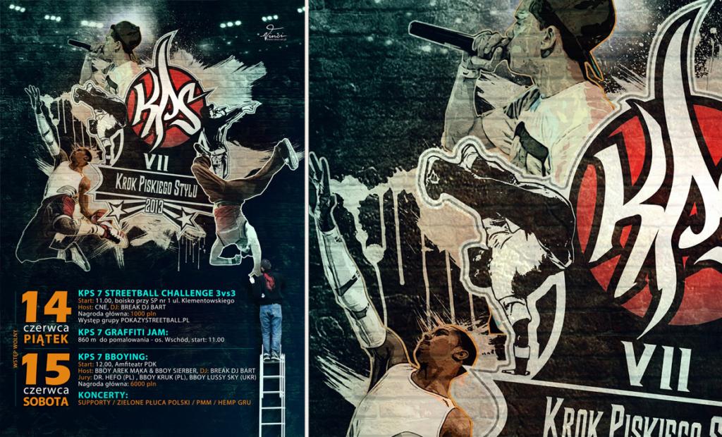 plakat festiwalowy, muzyczny, młodzieżowy