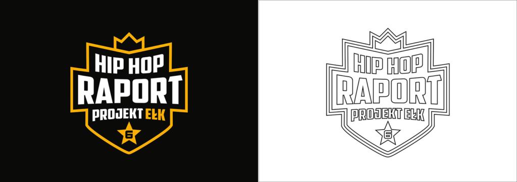 logo siatka, kontur, projektowanie logo festiwalu muzycznego