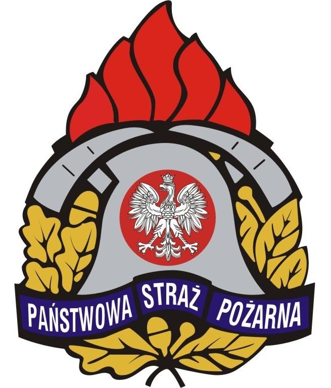 logo Państwowa Straż Pożarna mural