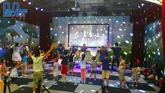 park rozrywki w Chinach, zabawa, malarstwo
