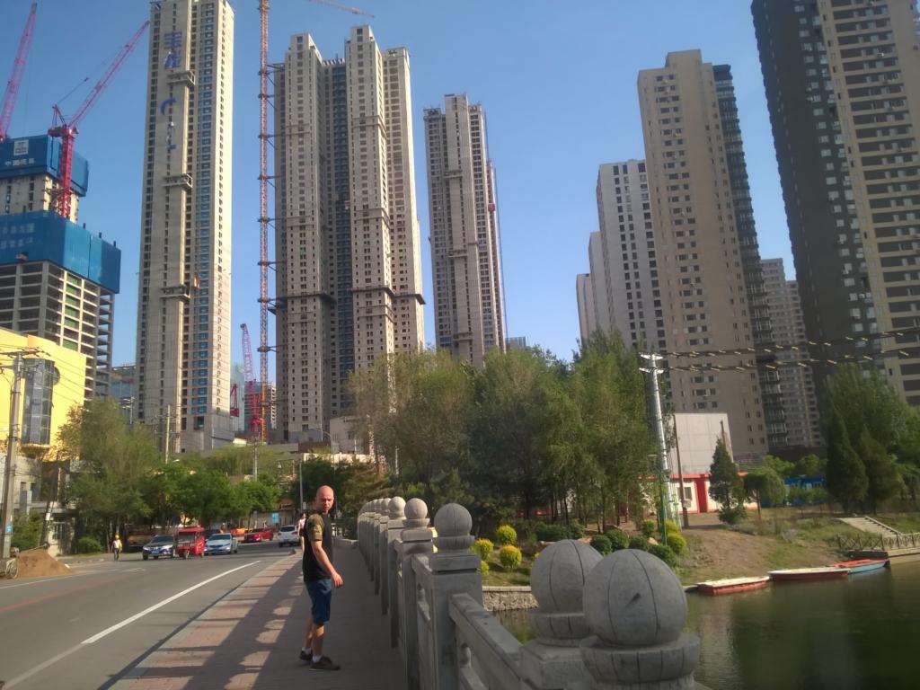 wieżowce, drapacze chnur w Chinach