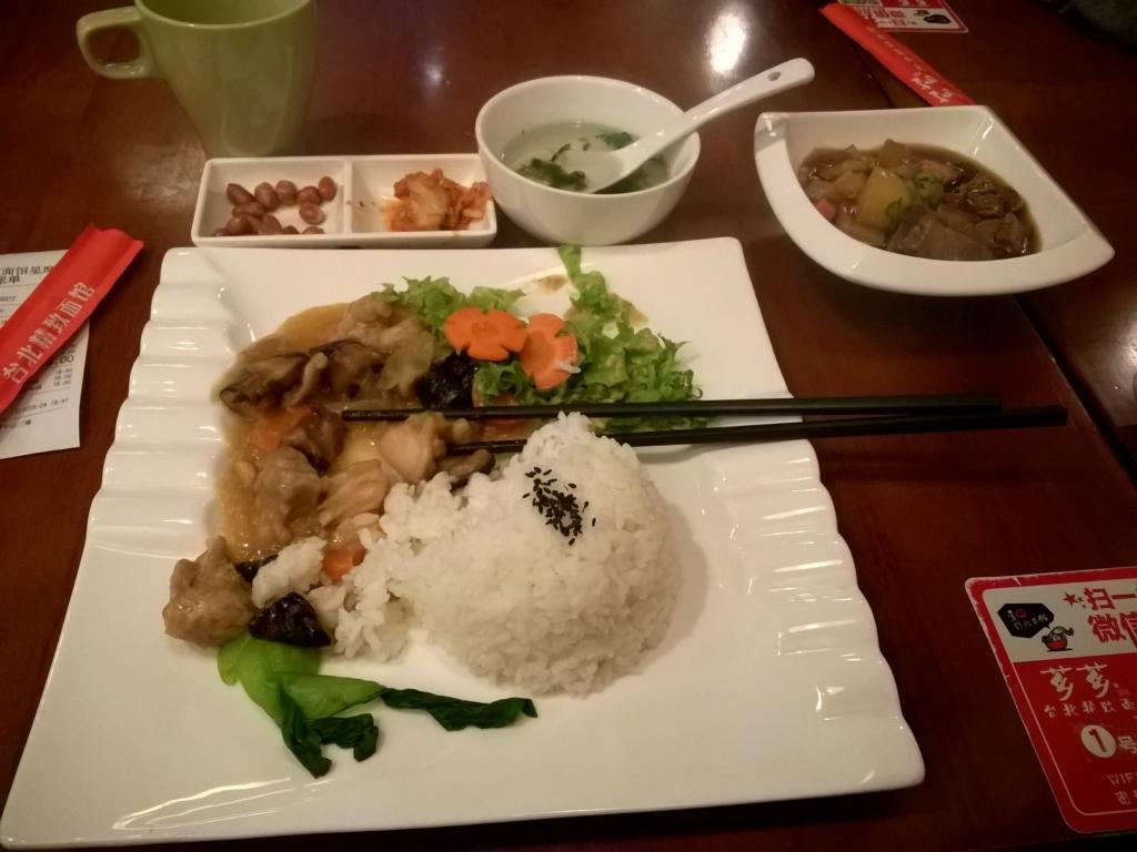 obiad w Chinach