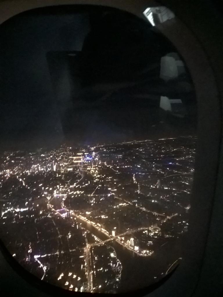 chiny z samolotu