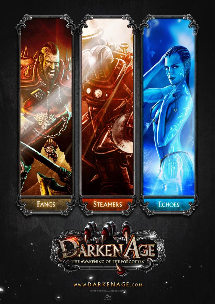 Plakat gra dark fantasy