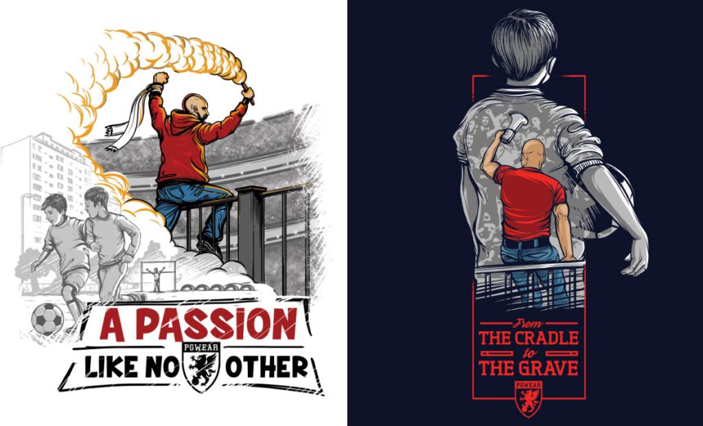 projekty, koszulki, pgwear, tshirt, fotball
