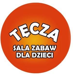 logo tecza, Ełk, sala zabaw