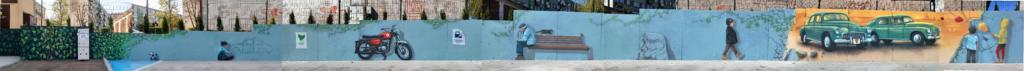 mural iluzjonistyczny, iluzoryczny, 3d, oszukać oko, Trompe-l
