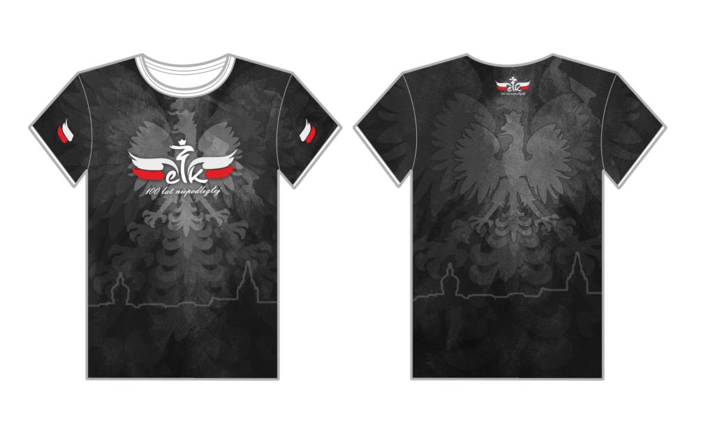 koszulka 100 lat niepodleglej, obchody patriotyczne, pit bull, maraton, koszulka sportowa, koszulka oddychająca