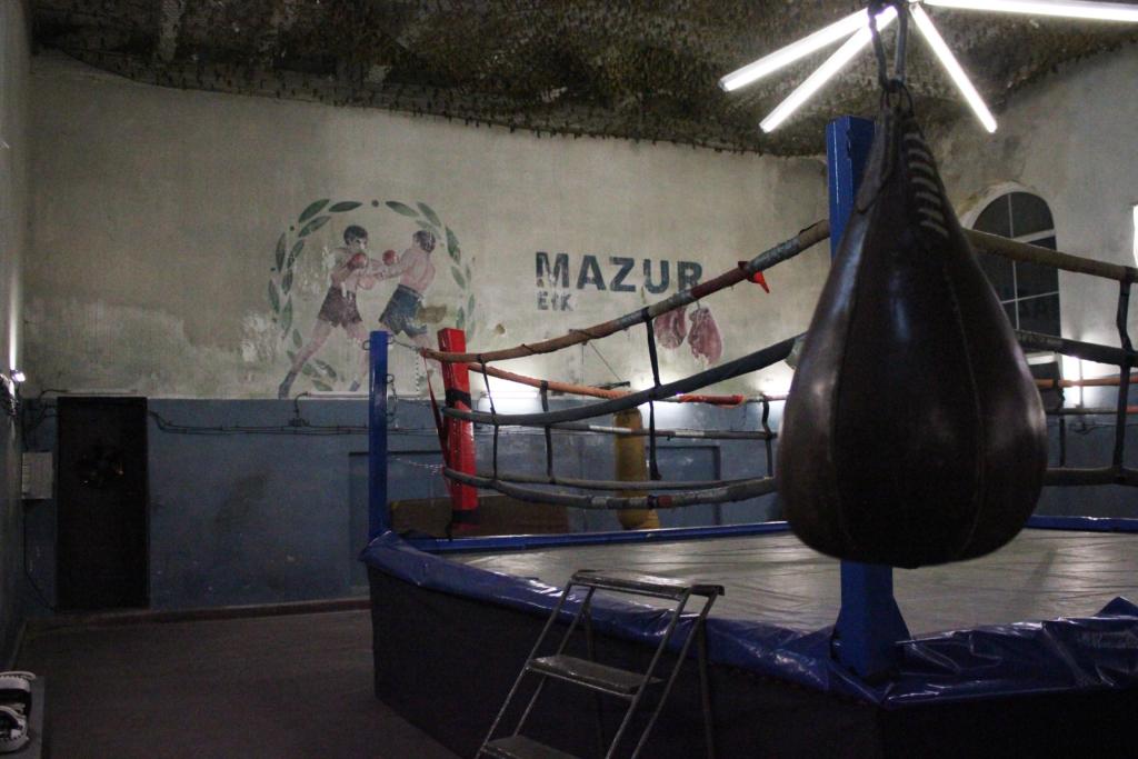 sala bokserska z historią, z pazurem, legendarna sala bokserska w Ełku