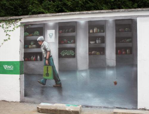 Jadłodzielnia-malowidło artystyczne 3d