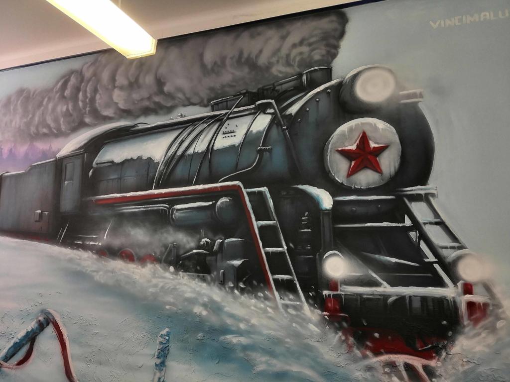 lokomotywa z czerwoną gwiazdą, wywózki w głąb ZSRR