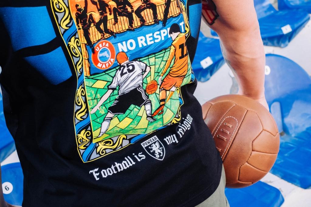 ubrania dla pasjonaty, sport, piłka nożna, soccer, design, graphics