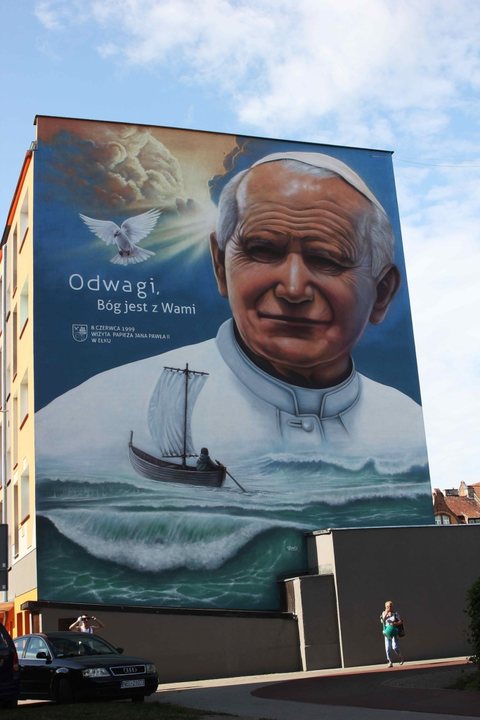 mural Jan Pawel