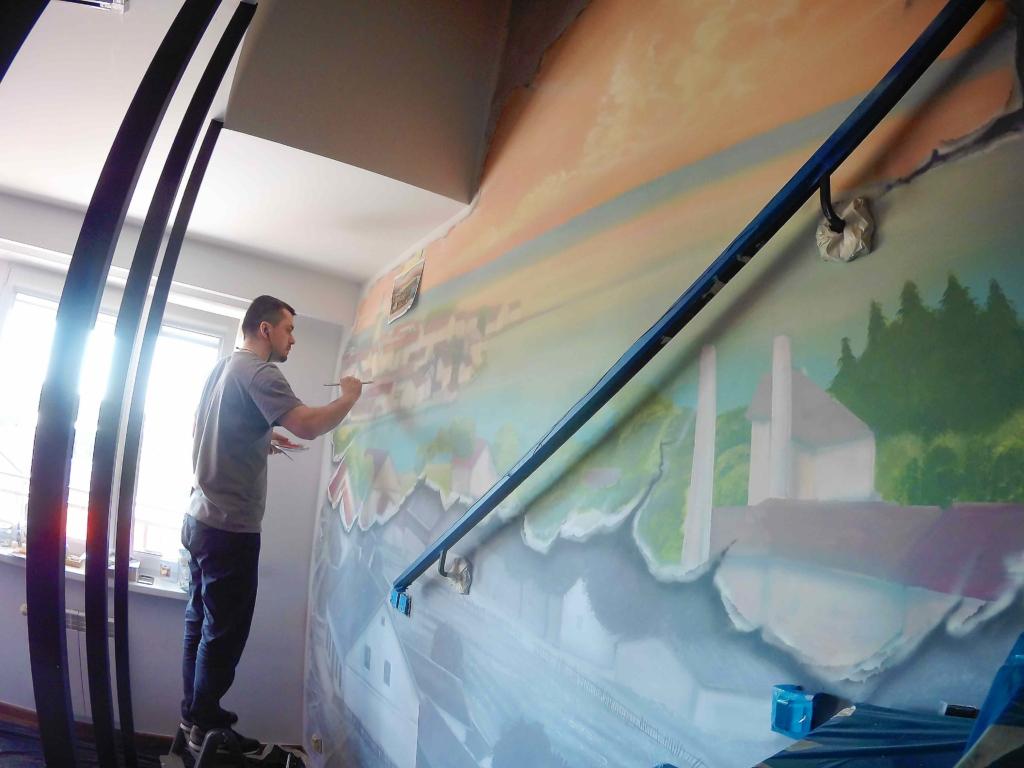 malujemy miasto Ełk