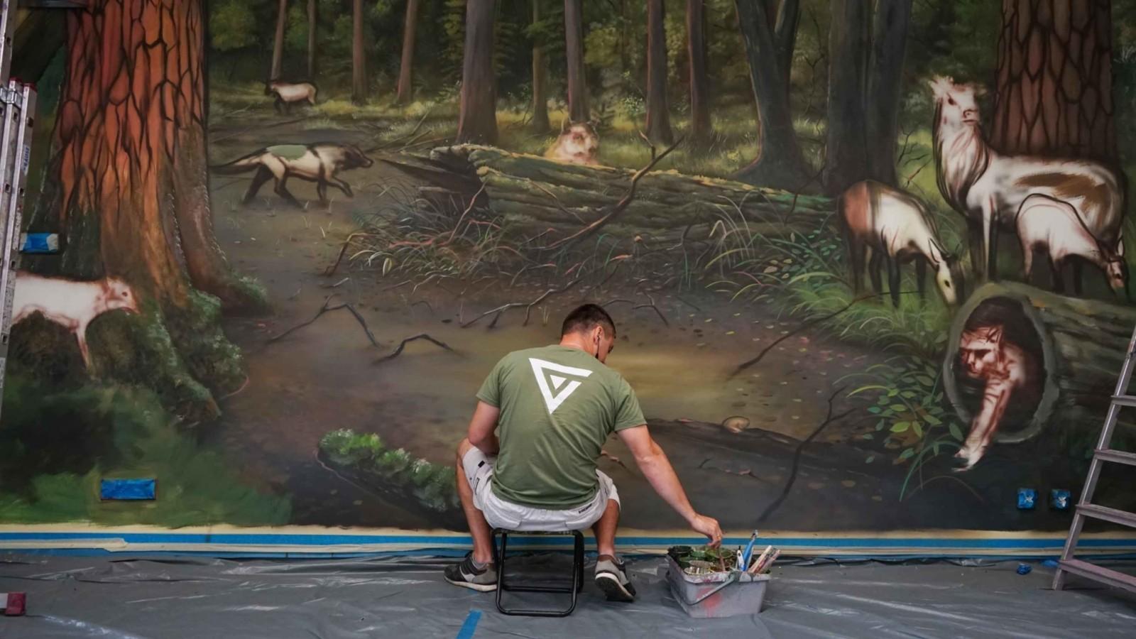 malujemy las