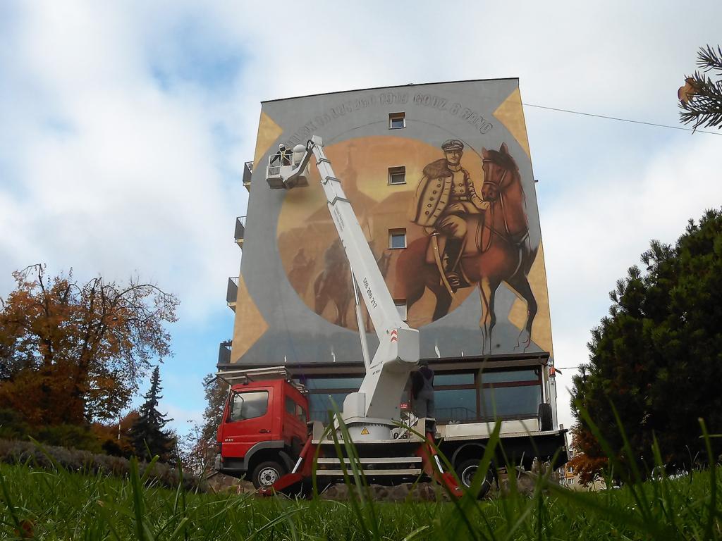 mural historyczny Bielsk Podlaski
