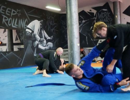 Grappler Ełk Brazylijskie Jiu-jitsu