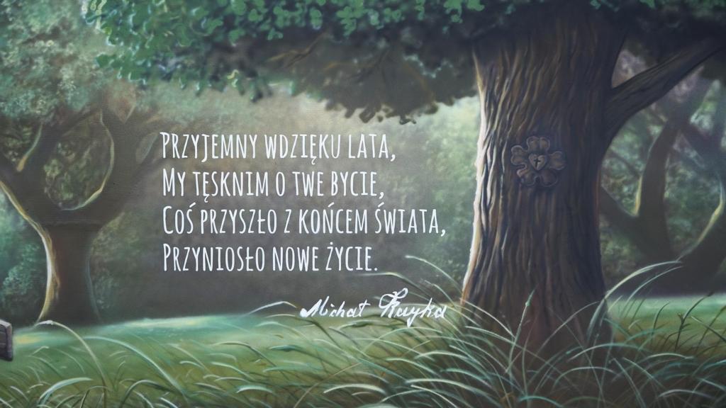 wiersz mazurski