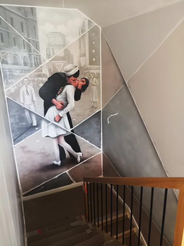 Alfred Eisenstaedt pocałunek time square