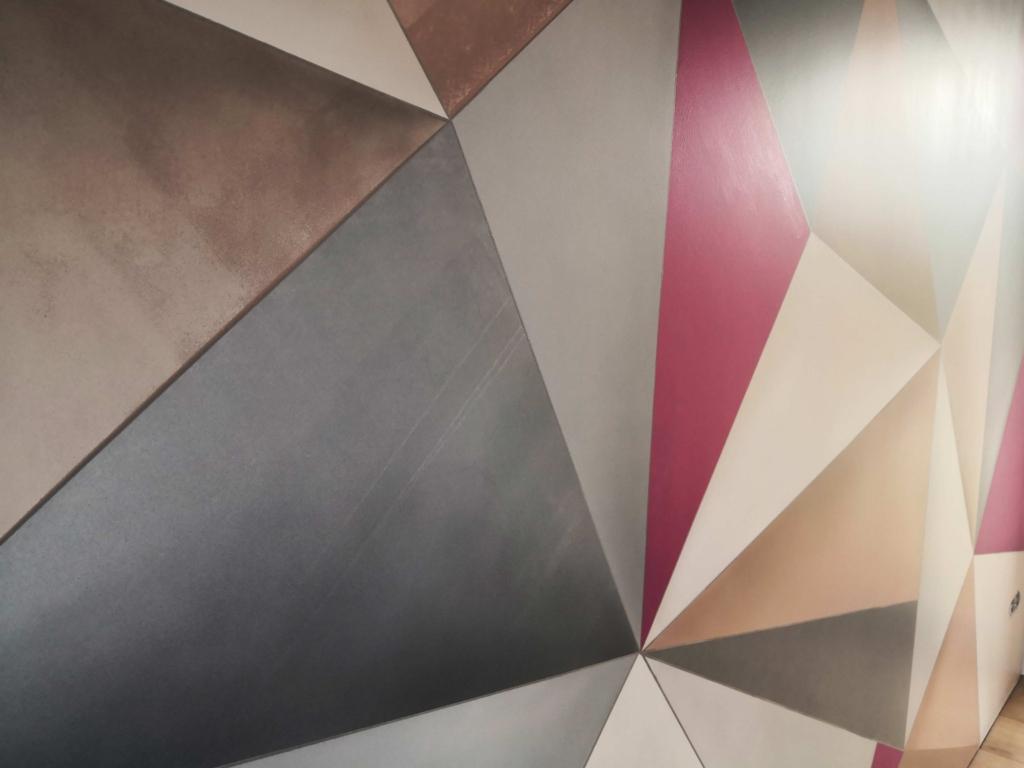 trójkąty jadalnia