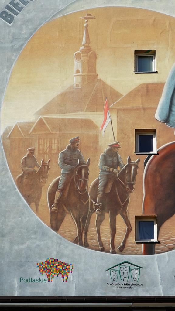 Rusztowanie mural